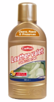 CarPlan Leather Valet 500ml Cleans Conditions Cares For Leather Upholstery
