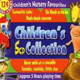 Children's Nursery Favourites 5 CD Box Set Classic 124 Well Loved Rhymes + Songs + Stories for Kids
