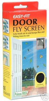 Fly Screen - Door - Flying Insect Pest Control & Protection - STV227