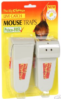 Mouse Trap Twin Pack Live Catch Ready Baited Humane & Poison Free The Big Cheese STV155