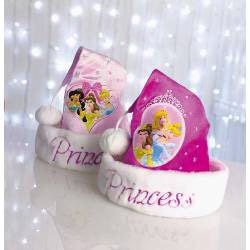 ... best premier disney princess christmas santa hat one size fits all dark  pink or baby pink 6948641a3fa8