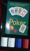 The Poker Set Gift Boxed £5.99 Play Poker Cards Chips Gambling Game