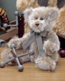 BEARINGTON Bear Collection BABY GREYSON 16 inch Soft Plush Toy 1264S