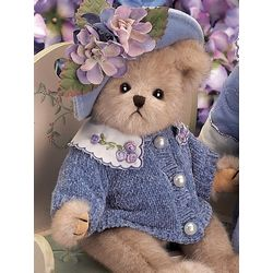 BEARINGTON Bear Collection NANCY Retired Limited Edition Plush Soft Toy Animal