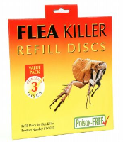 Electronic Flea Killer Light Refill Discs Pack of 3 Sticky Discs For Pet Owners, Cats & Dogs STV021