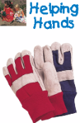 Helping Hands Kids Rigger Gloves Childrens Gardening Gloves Ages 3 to 7