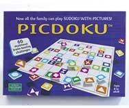 Picdoku Picture Sudoku Puzzle Game Age 8+ Board Game RRP £17.99 Numbers Letters Pictures Educational